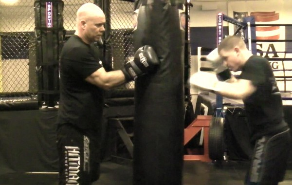 Boxing Heavy Bag Drill: Quick Blitz