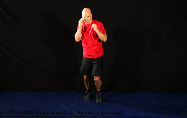 MMA Footwork Drill (Double Bounce)
