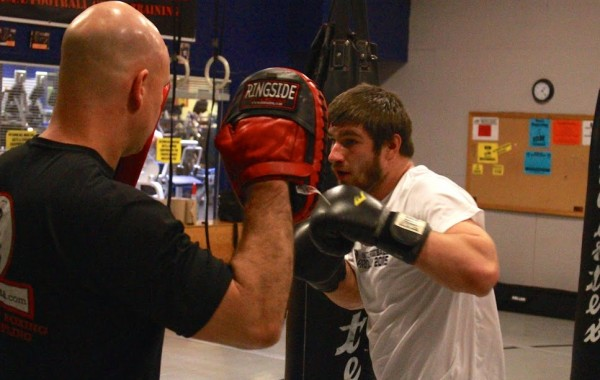 Striking: 3-Count Punching Combinations