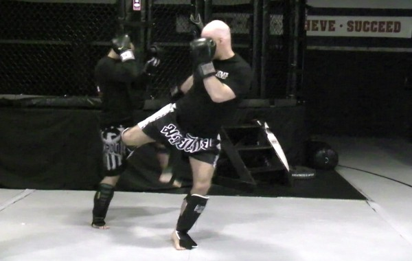 Kickboxing Drill: One For One Counter Flow