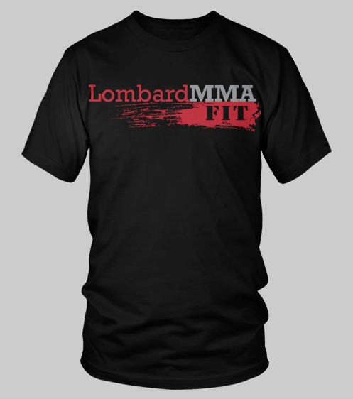 LombardMMA-FIT Black Short Sleeve