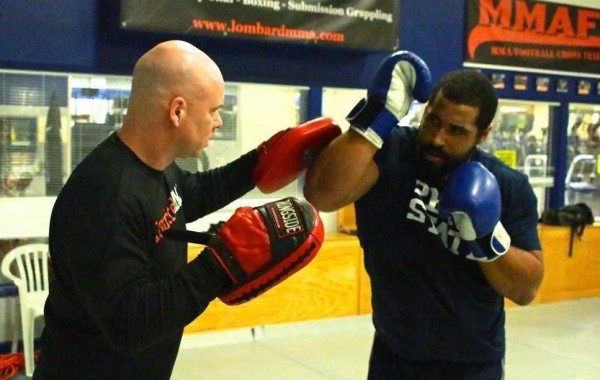 John Urschel NFL Off-Season MMAFx Training
