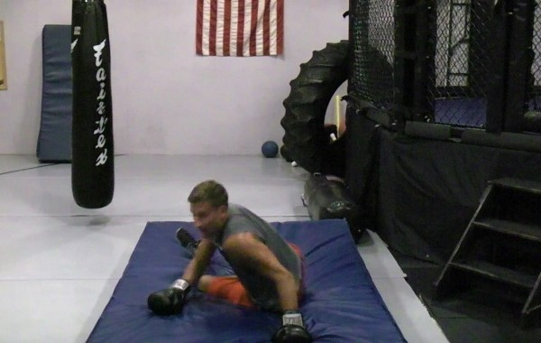 MMA Conditioning – Quick Sprawls