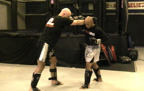 Muay Thai Rear Long Knee