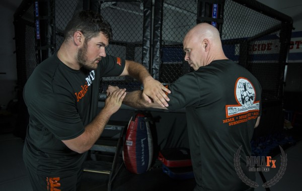 MMAFx Football Hand Fighting Drill