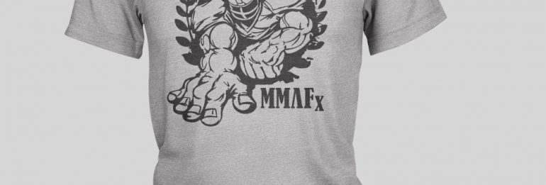 MMAFx Grey T-Shirt
