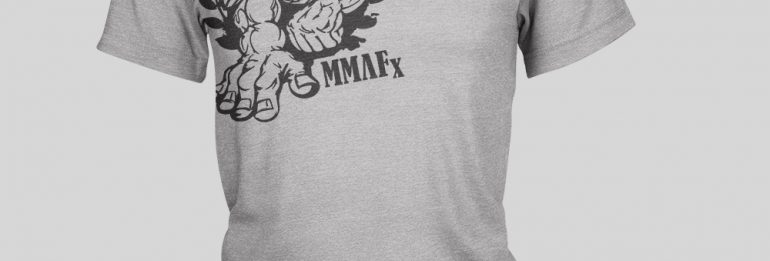 MMAFx T-Shirt (Shoulder Logo)